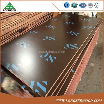 Waterproof construction usage film faced 18mm shuttering plywood