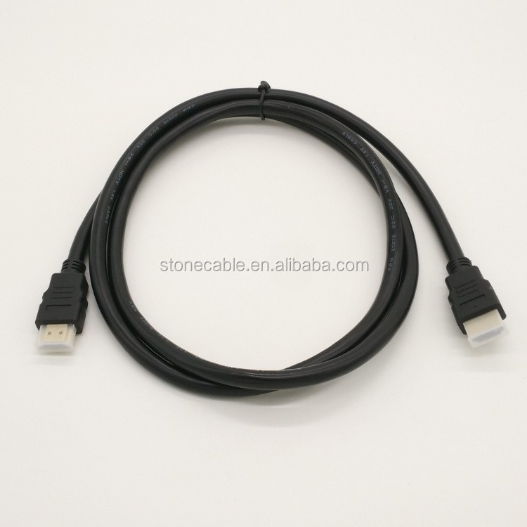 High Speed HDMI Cable M/M, 10 FT / 3 M, Black OD4.0mm