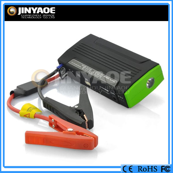 car accidents safety supplies auto jump starter booster cable 500amp battery bank jump starter
