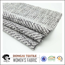 Dongju textile knitting jacquard factory polyester fabric price kg