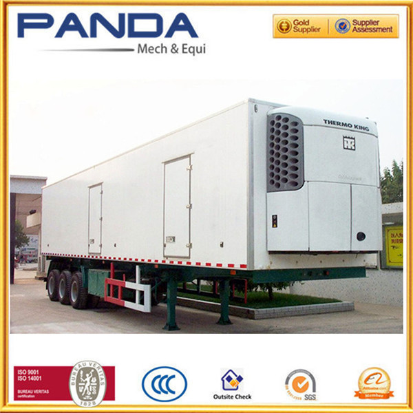 PANDA 40ft 45ft freezer box trailer/ refrigerated van trailer/ used deep freezers for sale