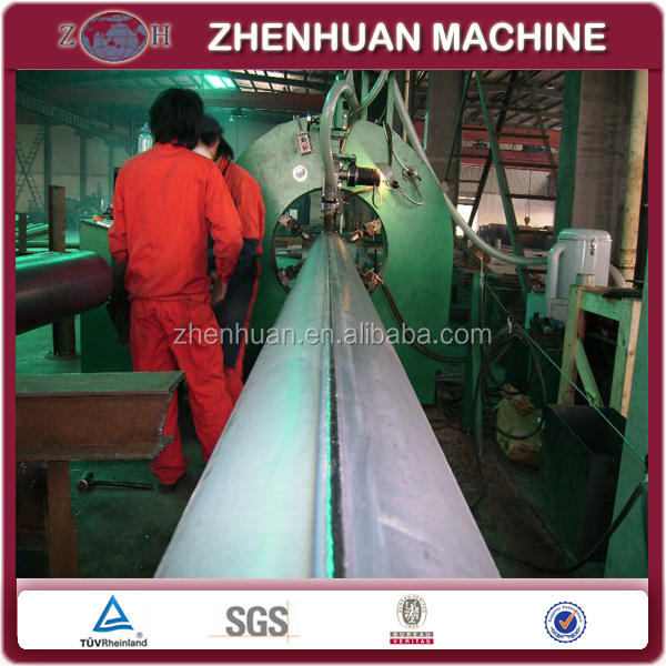 Automatic street pole making machine