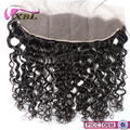 XBLHair New Arrival Virgin Human Hair Water Wave Short Brazilian Hair Front Lace Closure