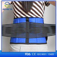 top selling products 2015 Adjustable Tourmaline Heating Lower Back Brace Belt Back Pain Relief AFT-Y010, ISO9001 certification