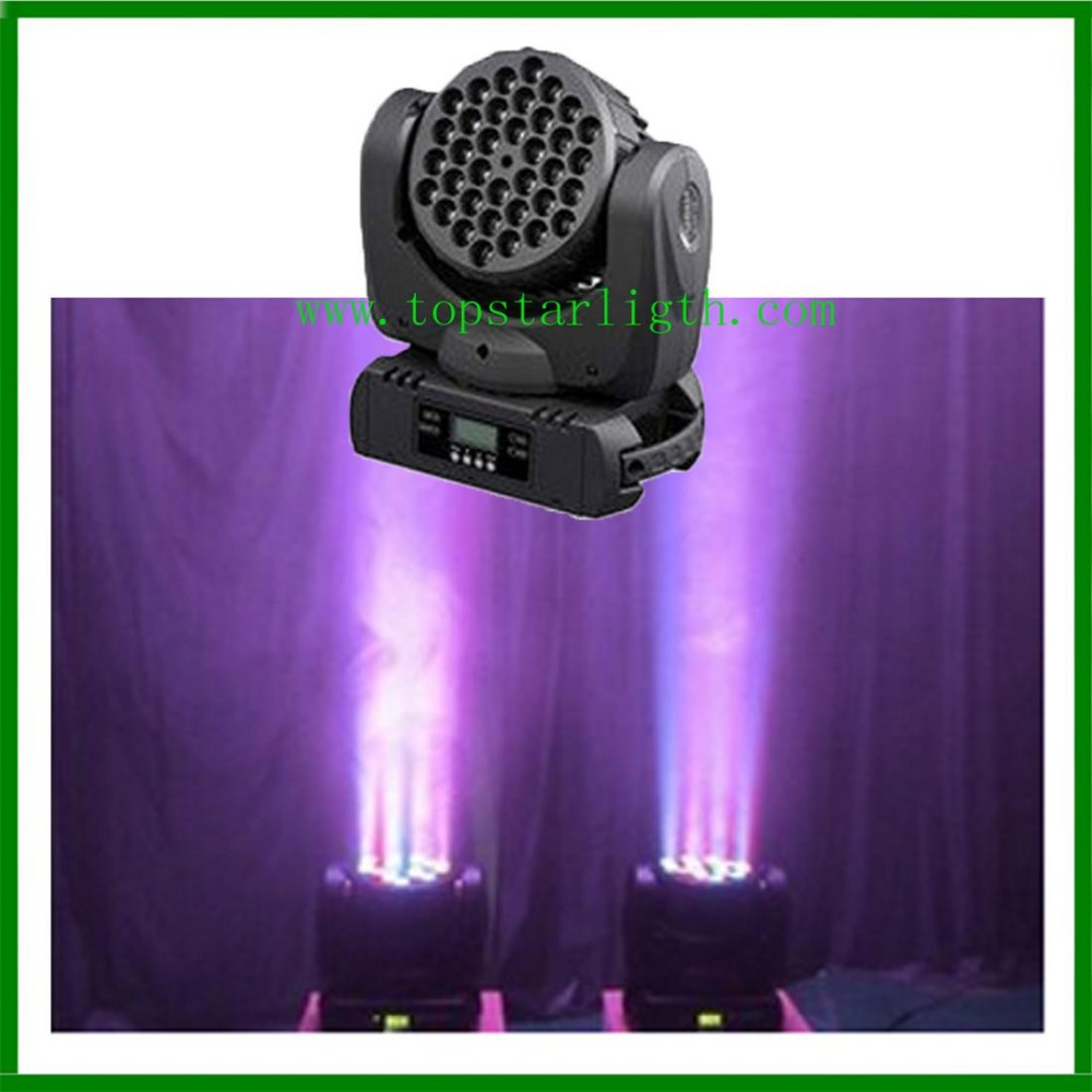 MINI beam <strong>led</strong> moving head light 36pcs <strong>3w</strong> RGBW , Disco KTV Bar DJ Best Mini Beam <strong>Led</strong> Light