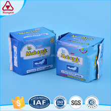 Extra long sanitary pad with wings slim protection sanitary napkin