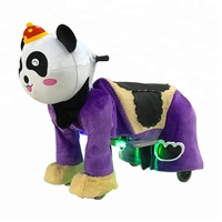 Coin Operated Animal Ride Toys Plush Riding Toys