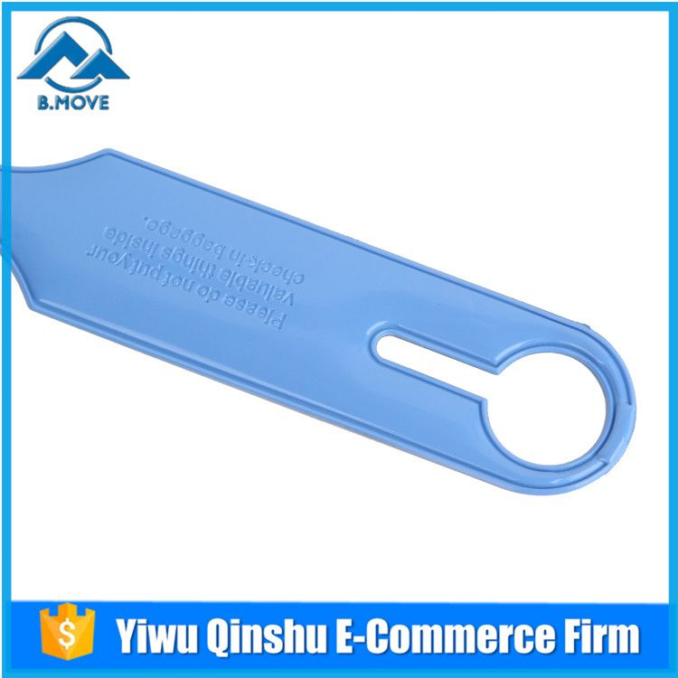 Factory sale super quality airline plastic baggage name tags for sale