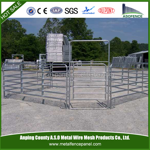 Australia standard High Quality anping china wholesale steel farm gates