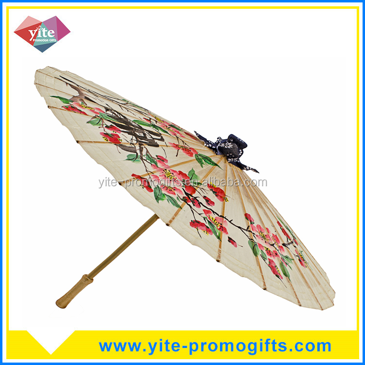 Traditional folk art style chinese Oil paper umbrella