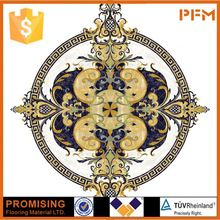 hot sale waterjet medallion 2014 round table marble top