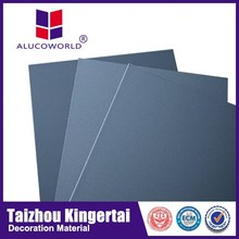 Alucoworld excellent surface flatness and smoothness cheapest exterior wall material