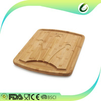 2016 new organic carved bamboo cutting boards