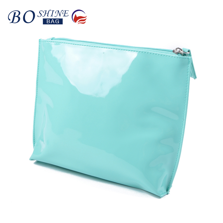 Waterproof light pu cosmetic bag wholesale make up bag for advertising