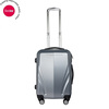 Cool Silver ABS Trolley Luggage With