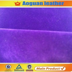 wholesale finished ladies shoes raw material suede fabric nonwoven backing