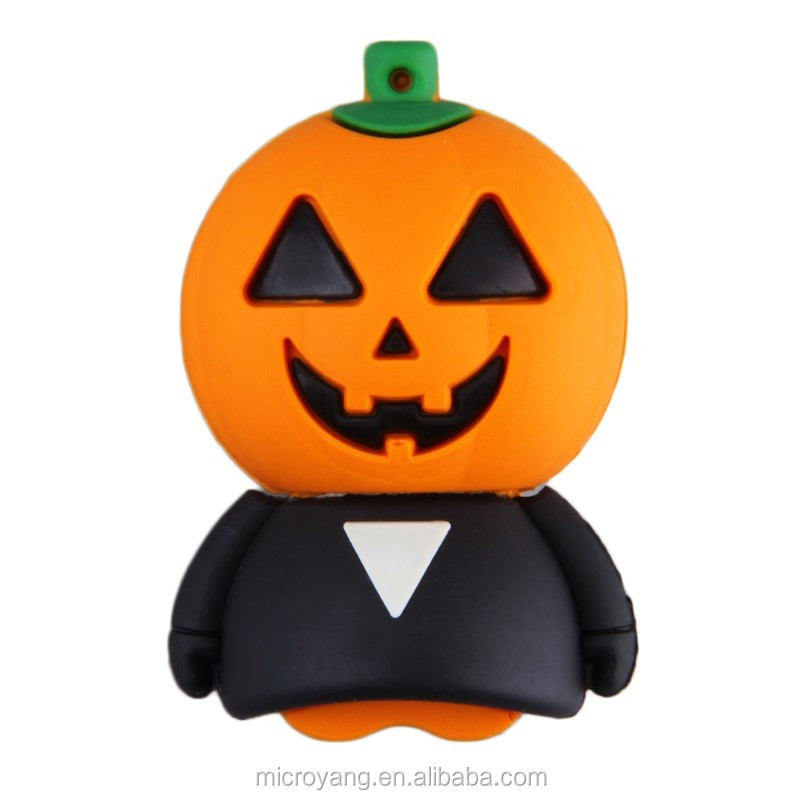 Hot Pumpkin Shape Fast Speed USB 2.0 Memory Stick Flash Pen Drive