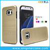 Wholesale Dual Layer Shockproof Armor Hybrid Hard Cover For Samsung Galaxy S7 Rugged Case