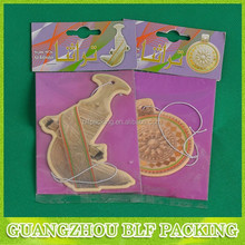 (BLF-AR024) hanging paper car air freshener
