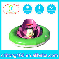 origin manufature's inflatable battery operated +LED bumper car