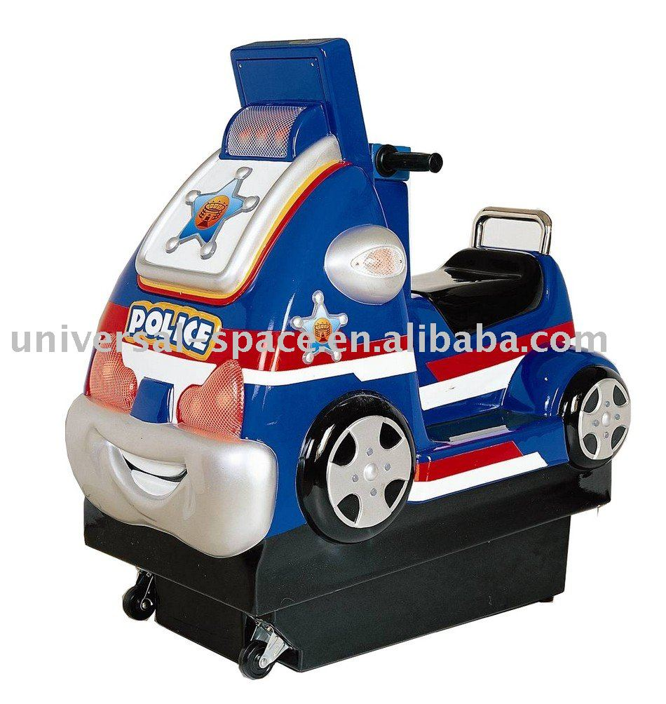 Mini Police Car Amusement Game and Kiddie Ride Machine