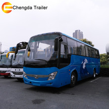 Higer 60 Seater New Colour Design Luxury Tour Coach Bus low price for Sale