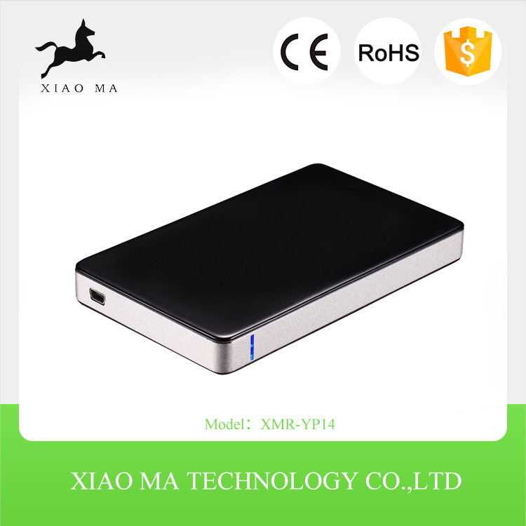 High Quality Aluminum 2.5 hdd hard drive caddy case XMR-YP14