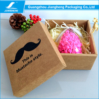 Packaging supplier promotion custom kraft box for apparel nike shoes