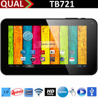 Hot selling! 7 inch cheapest tablet pc with voice calling Allwinner A20 Dual Core 800*480 HD 1080P USB Host C