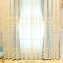 China Supplier European Style Window Curtains Sheer Curtains For The Living Room