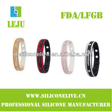 Most popular silicone slap bracelets promotion gift