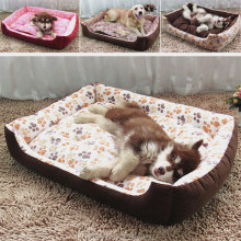 Hot sale plush dog bed pet dog pad cat bed cute pet bed