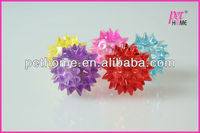 2015 new and best sell 3.5cm boucing and flashing tpr cat balls