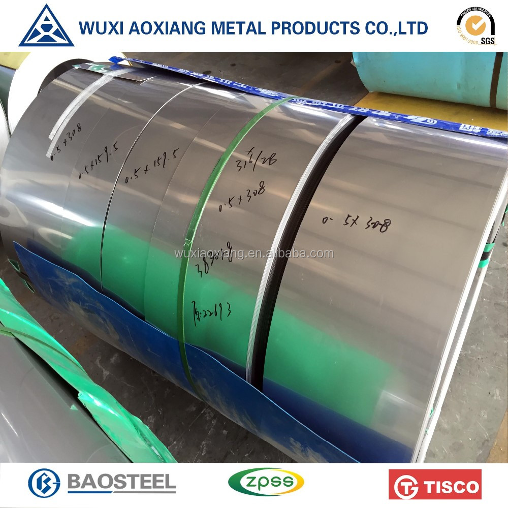 New Premium Cold Rolled ASTM Stainless Steel Polishing Materials Strip 316 Made In China