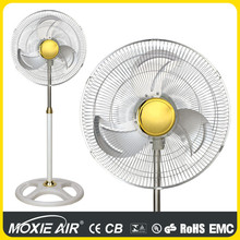 "18"" heavy duty white industrial stand fan"