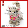 2014 new kid toy birthday christmas gifts stuffed gray cat electronic pets cat soft animal toy lovely animal cat plush toys