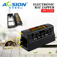 Aosion Top Rated Removable flash + voice 6000 sq.ft range electric rat trap mouse trap pest control