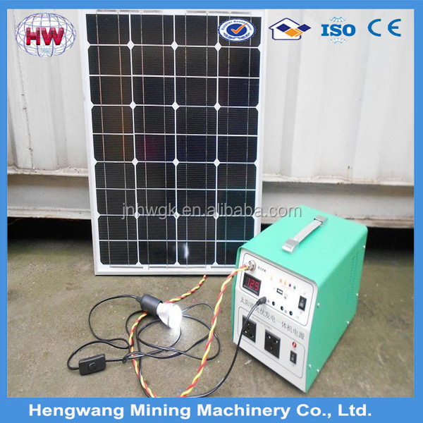 portable solar power generator /solar energy price /omplete equipment
