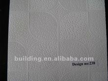 pvc acoustic laminated gypsum board(cheap ceiling tiles )