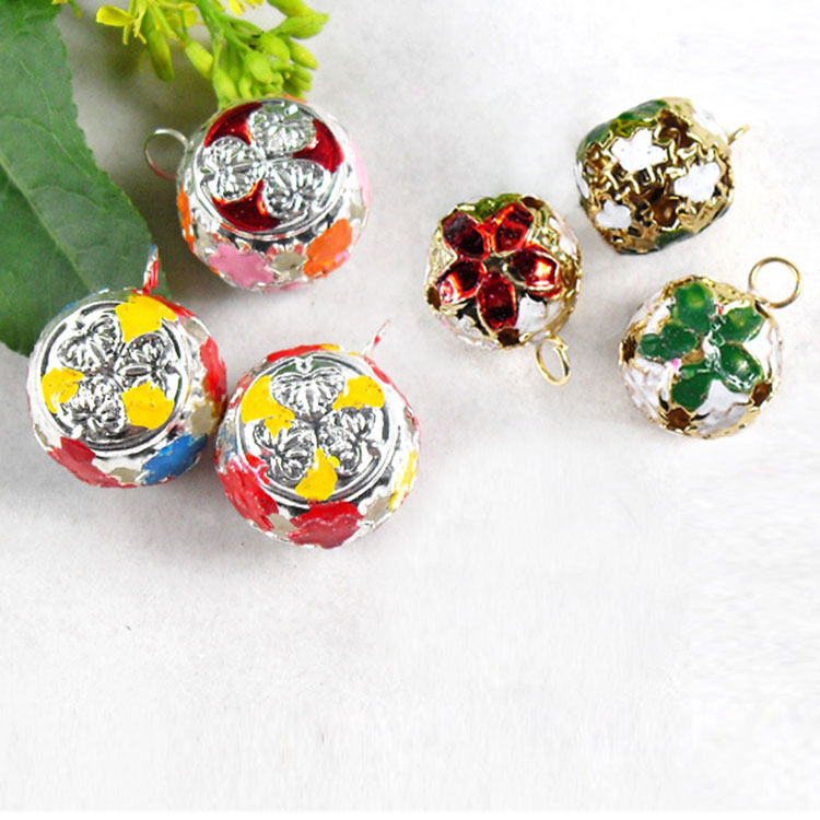 [PAC030] Pet accessories cloisonne like beautiful pet collar bells for dogs and cats