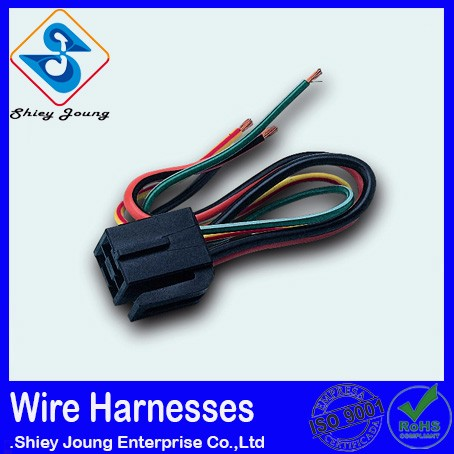 Custom Odm car stereo harness female connector photos switch wiring automotive electrical connector