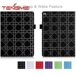 multi angle cover for ipad tablet auto sleep case for ipad tablet