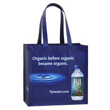 Useful eco friendly reusable glossy laminated rpet shopping bag