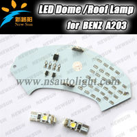 High quality 48SMD 3528 led dome lamps special design led car interior reading map lights for BENZ A203
