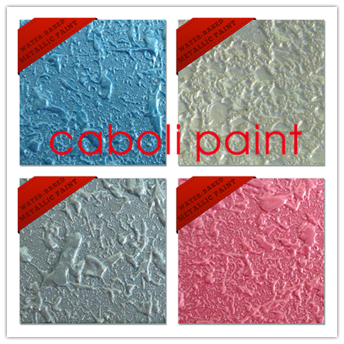 Caboli rubber epoxy metallic paint for wall decorative