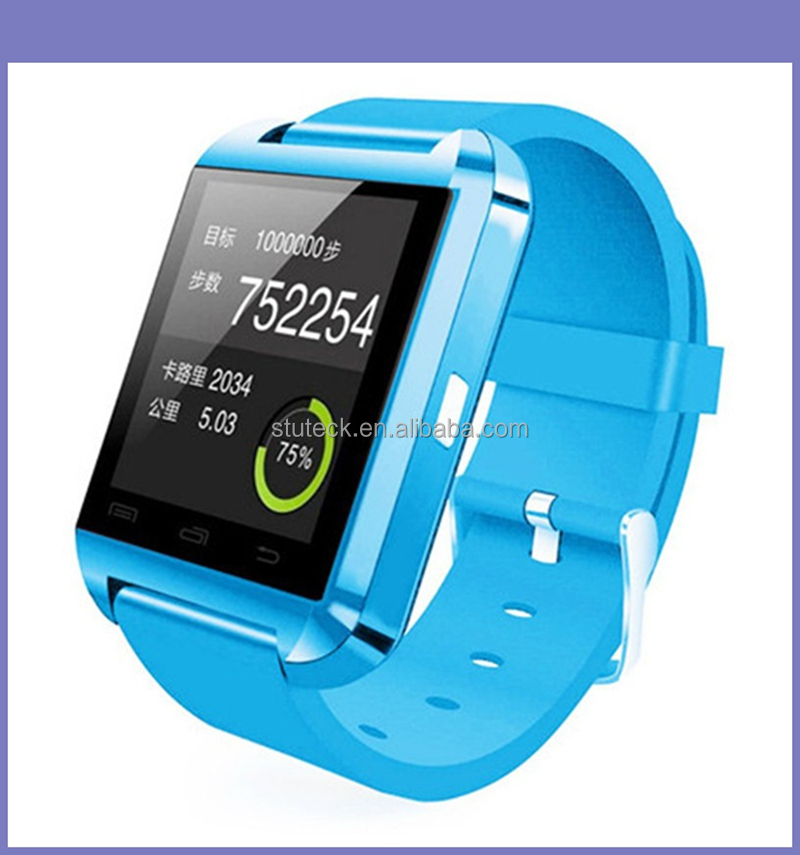 Hot Model U8 Sport Watch 1.44 Inch Capacitive Touch Screen Wifi Bluetooth Smart Q Z Watch