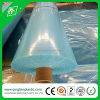Virgin material agricultural poly tunnel greenhouse uv protection blue woven film
