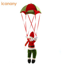 Lovely parachute santa claus gift christmas decor hanging ornament for sale