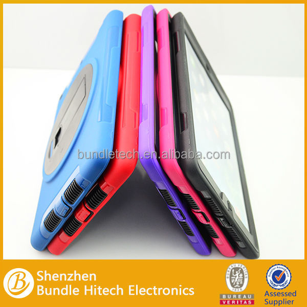 New Customized for ipad air case,cheap price for apple ipad accessories,for ipad air tpu+silicone case hot selling