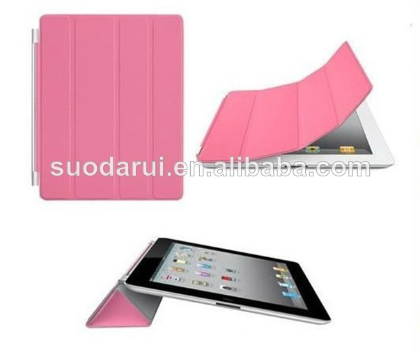 Leather Smart Case Crystal PC Hard Back Cover For Apple iPad Mini 2 Mix color